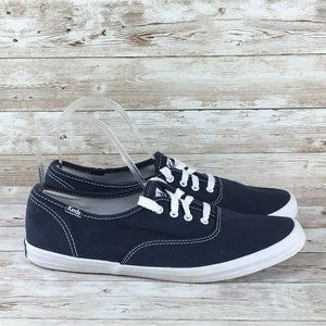 Keds Champion Womens 8 Navy Sneaker